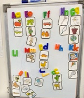 Capital & Lowercase Letter Match with Sound Pictures