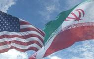 Iran and USA flag
