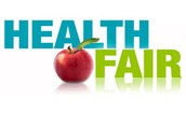 Come to our Health Fair you will have a blast!