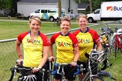 I ride for the Rural AIDS Action Network