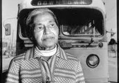 ROSA PARKS DOESN'T MOVE ON THE BUS