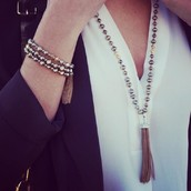 Milana Tassel Necklace $39.50 with a $50 purchase