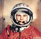 April 1961: Yuri Gagarin