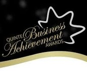 Nominated for a Quinte Business Achievement Award