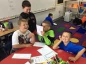 First Grade Buddies!
