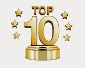 TOP 10  for December