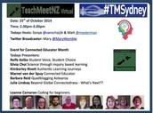 TeachMeetNZ meet TMSydney