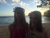 Mi hermana, Jenna, y yo