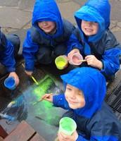Rain doesn't stop play at Junior Boys