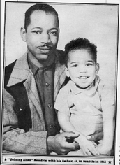 Jimi With His Dad