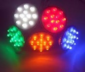 LED with colour