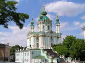 St. Andrew's Cathedral in Kyiv