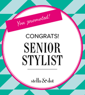 Congratulations to our Newest Senior Stylists!