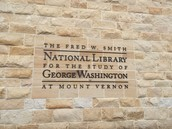 PWSLA Visits the Washington Library @ Mt. Vernon