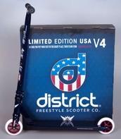 District V4 Uncle Sam Scooter (25% Sale!)