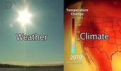 Weather v.s Climate