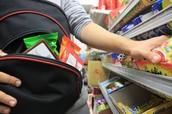 Teens shoplifting