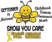 Childhood Cancer Awareness Month - Gold Day Wednesday