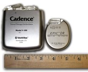 ICD and Pacemaker side by side