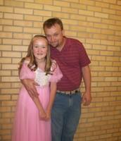 Dad and I; Dance recital 2010