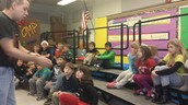 "Second graders enjoyed listening to the ""Bug Guy""."