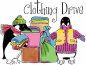 Collect clothes and Hygiene items