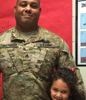 Tatum and her dad