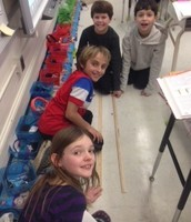 Measuring the Length of our Classroom!