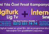 Digiturk Lig Tv İnternet Kampanya