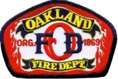Oakland Fire, Thank You!