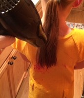 BLOW DRYING HAIR ON LOW