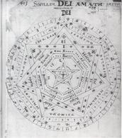 A sketch of John Dee, spooky huh?