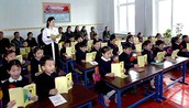 Students in North Korea