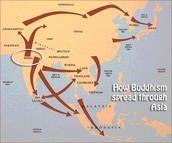 The map of Buddhism