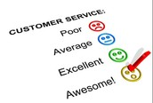 Benefits to customer and benefits for the organisation
