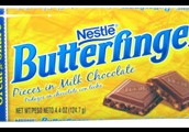 butterfinger pieces in milk chocolate