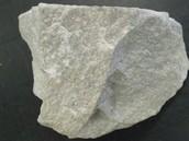 metamorphic rock : quartzite