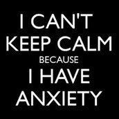 Anxiety is something that is very stressful