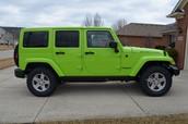 car (used Jeep 2007 Wrangler)