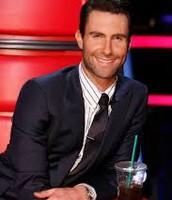 "Adam judge/coach on ""The Voice"""