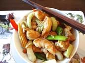 Prepared shrimp