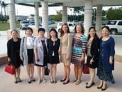 Chinese Delegation Visit October 9, 2015