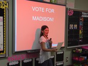 Vote for Madison!