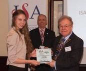 ISA Awards Claires Court Student