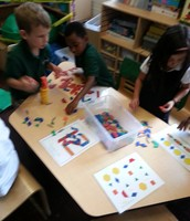 Exploring pattern blocks