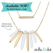 Rebel Cluster Necklace- Available in Silver & Gold