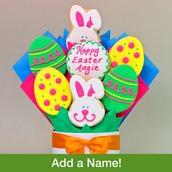 Hoppy Easter Cookie Bouquet