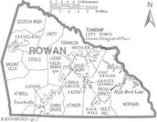 Location Of Rowan County