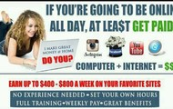 Why not get paid to be on facebook!