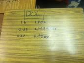 4th Math DOL